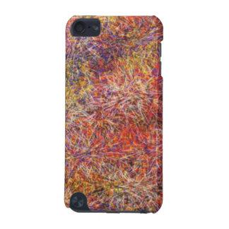Motif multicolore abstrait chaotique coque iPod touch 5G