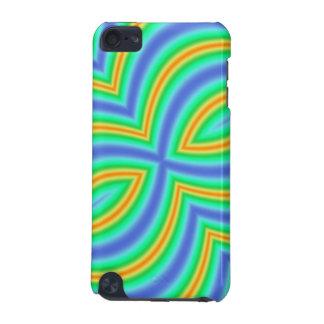 Motif multicolore abstrait
