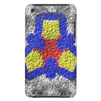 Motif multicolore abstrait de texture coque iPod touch