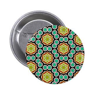 Motif multicolore badge rond 5 cm