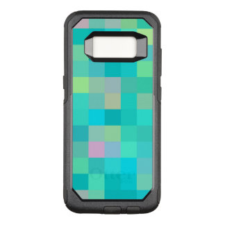 Motif multicolore d'art de pixel coque samsung galaxy s8 par OtterBox commuter