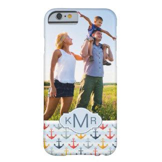 Motif nautique fait sur commande de photo et coque iPhone 6 barely there
