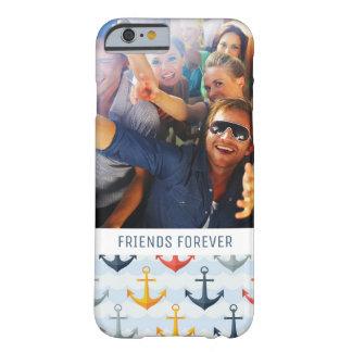 Motif nautique fait sur commande de photo et de coque barely there iPhone 6