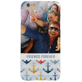 Motif nautique fait sur commande de photo et de coque barely there iPhone 6 plus