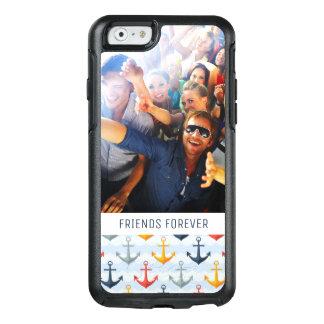Motif nautique fait sur commande de photo et de coque OtterBox iPhone 6/6s