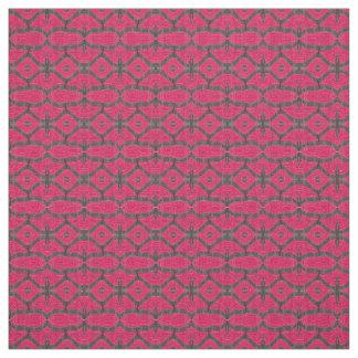 Motif noir assez rose tissu