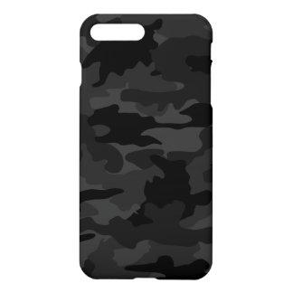 Motif noir et gris frais de Camo de camouflage Coque iPhone 7 Plus