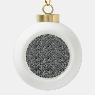 Motif optique complexe moderne boule en céramique