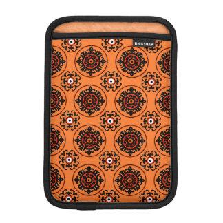 Motif orange de Suzani Housse iPad Mini