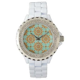 Motif ornemental montres cadran