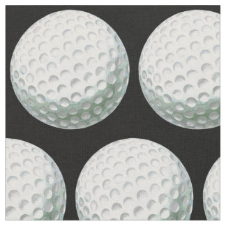Motif peint de boule de golf tissu