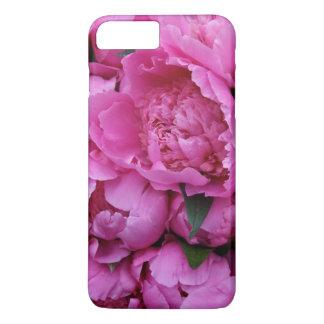 Motif photographique floral de pivoine rose coque iPhone 7 plus