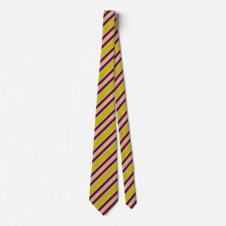 Motif pourpre de couleur de cravate de prune rayée