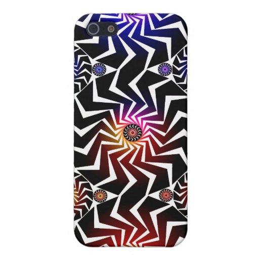 Motif psychédélique de sphères : coque iPhone 5