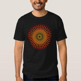 Motif radial psychédélique : Art de vecteur : T-shirt