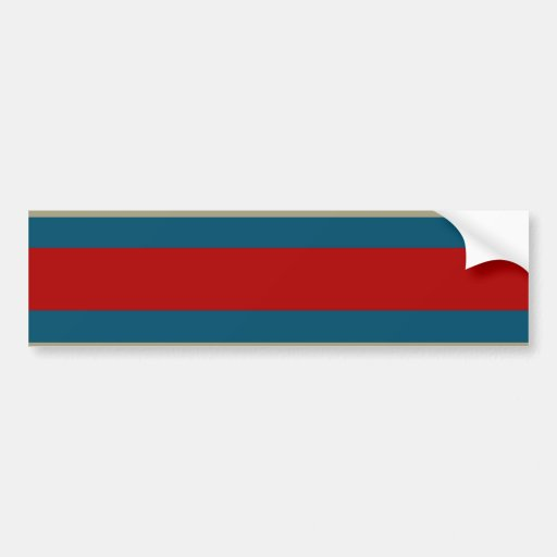 Motif rayé blanc bronzage frais de rouge bleu naut adhésif pour voiture