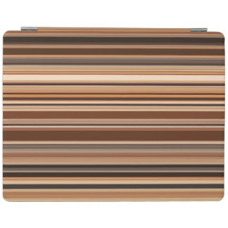 Motif rayé de Brown Protection iPad