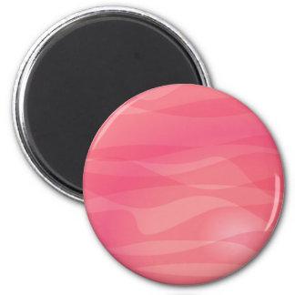 Motif rose d abrégé sur orange aimant pour réfrigérateur