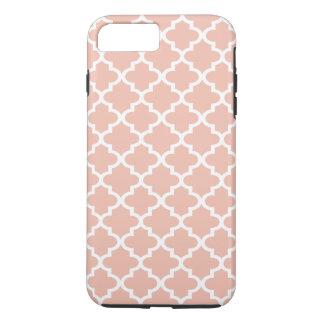 Motif rose | de Quatrefoil d'or Coque iPhone 7 Plus