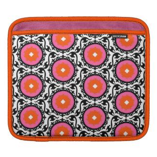 Motif rose de Suzani Housses iPad