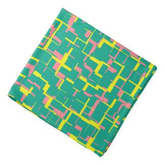 Motif rose jaune vert de Digitals Camo Bandana