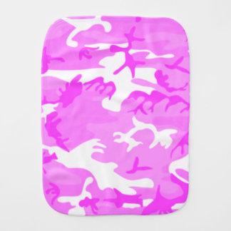 Motif rose mignon de camouflage linge de bébé