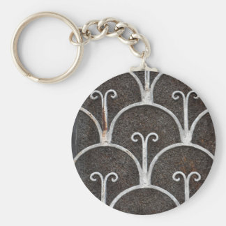 motif rouillé vintage porte-clés