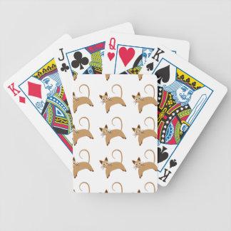 Motif sans couture d'arrière - plan de papier jeux de cartes