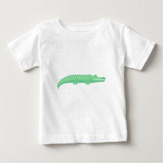 Motif sans couture de crocodiles drôles t-shirt pour bébé