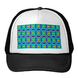 Motif sans couture de papier peint d'arrière - casquette