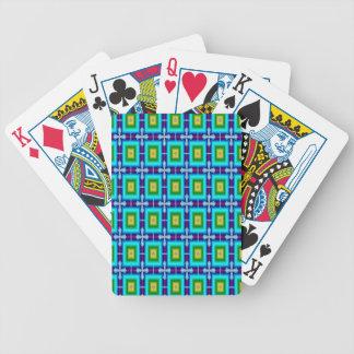 Motif sans couture de papier peint d'arrière - jeux de cartes