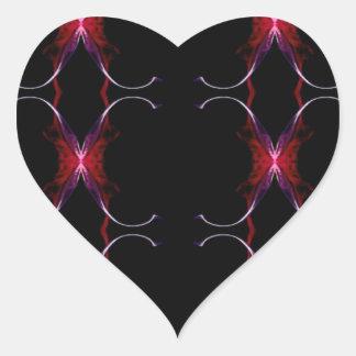 Motif sans couture de roses indien de gris de sticker cœur