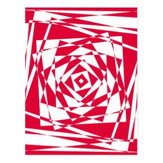 Motif sans couture de vecteur - arrière - plan cartes postales