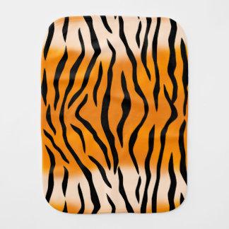 Motif sauvage de rayures de tigre linges de bébé