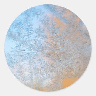 Motif sensible de gel, le Wisconsin Sticker Rond