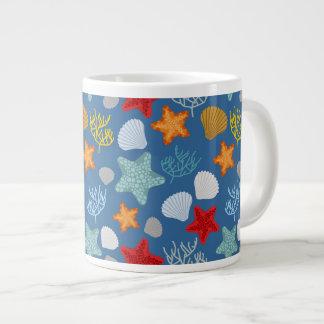 Motif sous-marin de la vie mug