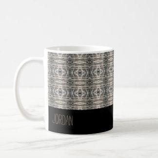 Motif texturisé par résumé paisible mug