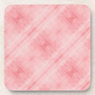 Motif texturisé rose dessous-de-verre