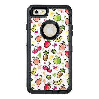 motif tiré par la main de fruits coque OtterBox iPhone 6 et 6s plus