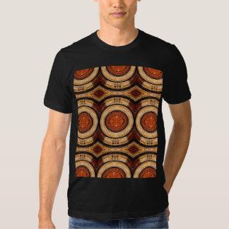 Motif tissé de trépied t-shirt