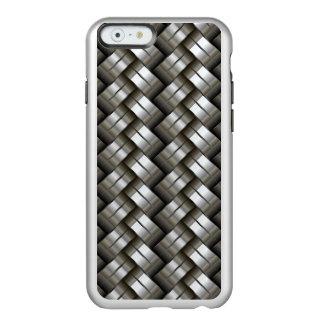 Motif tissé en métal coque iPhone 6 incipio feather® shine