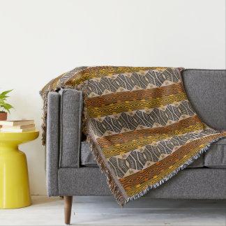 motif tribal africain ethnique couvertures