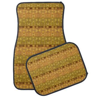 motif tribal africain ethnique tapis de voiture