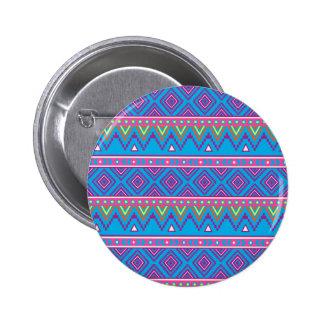 Motif tribal aztèque bleu pin's