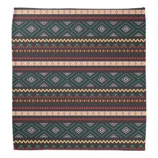 Motif tribal bandanas