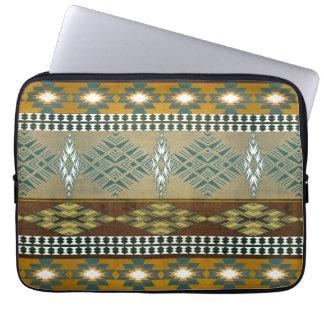 Motif tribal de Navajo du sud-ouest Housse Pour Ordinateur Portable