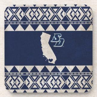 Motif tribal d'USD | la Californie Dessous-de-verre