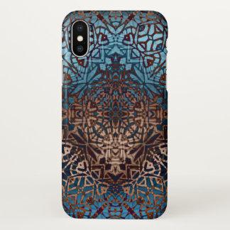 motif tribal ethnique de cas de l'iPhone X Coque iPhone X