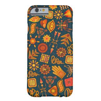 Motif tribal ethnique de formes, cas de l'iPhone Coque iPhone 6 Barely There