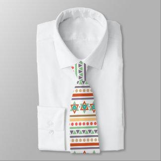 Motif tribal indigène ethnique de sud-ouest cravate
